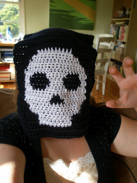 Crochet Pattern Skull Scarf : skull scarf pattern CROCHET AND OTHER MONSTERS/SKULLS ...