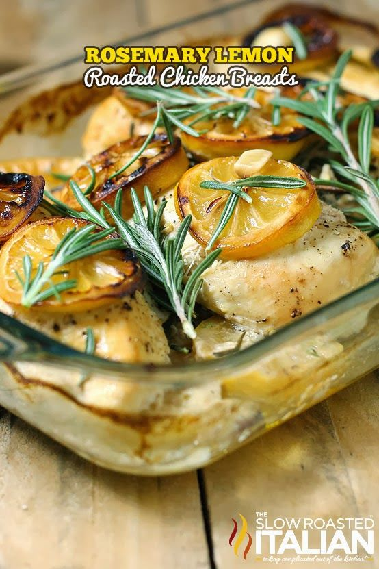 ... lemon and thyme lemon rosemary chicken breasts baked chicken recipes
