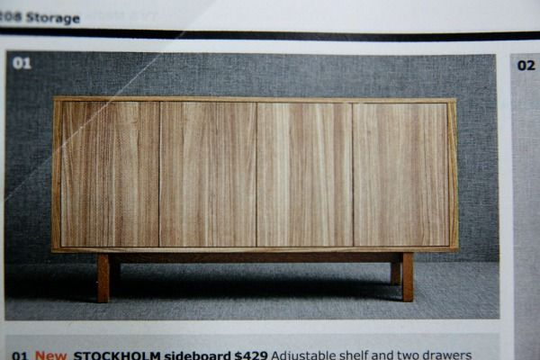 Ikea Stockholm - buffet table  COOPER DREAM HOUSE  Pinterest