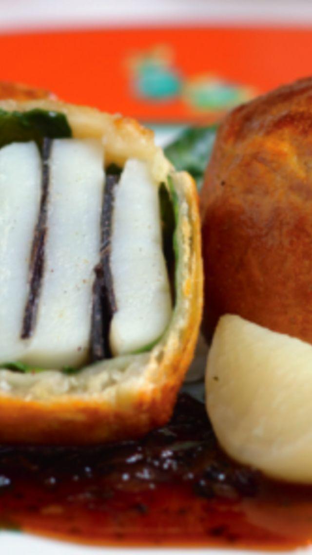 Black Tie Scallops Recipe | Cre8tive Sushi & seafood | Pinterest