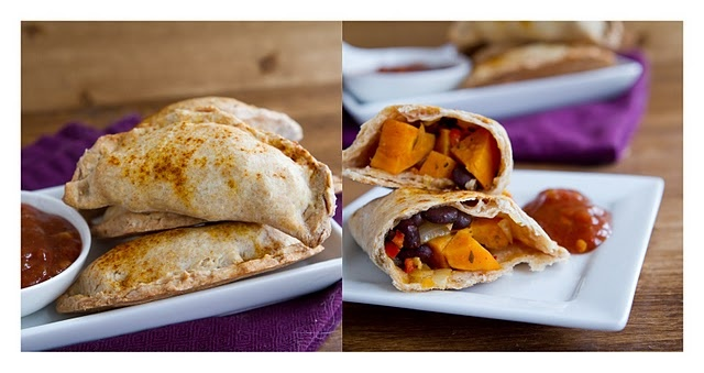 Chipotle Black Bean and Sweet Potato Empanada | Recipe