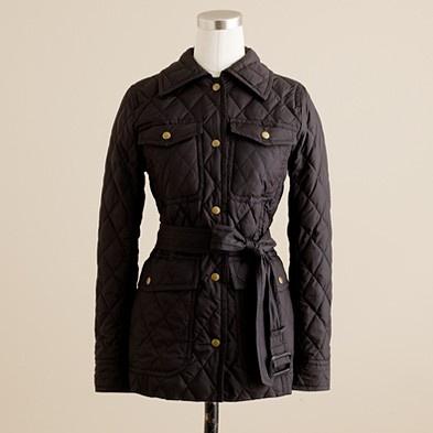 jcrew quilted coat