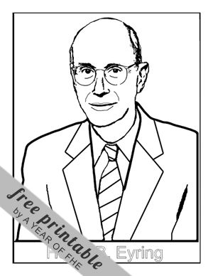 President Monson General Conference Coloring Page Coloring S Monson Coloring Page
