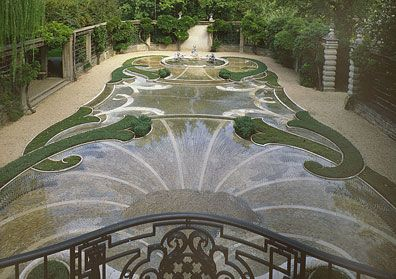 The pebble garden at dumbarton oaks dc gardens i love for Garden oaks pool