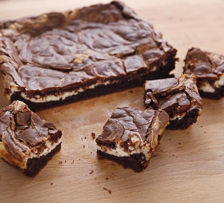 Cream Cheese Brownies {recipe} | We want cake! Lets eat cake! | Pinte ...