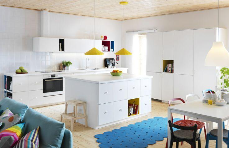 Kakel Kok Ikea : kakel kok ikea  Keittiooonestys kuvat, METOD VEDDINGE oppna