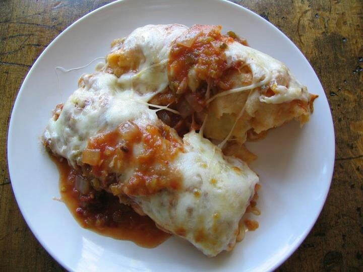 Butternut squash enchiladas | Foods I Would Like to Make | Pinterest