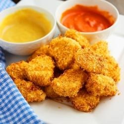 Crispy Baked Chicken Nuggets... | Wee Ones & Butter Beans | Pinterest