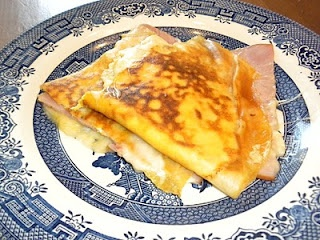 French Ham, Cheese and Egg Crepes | Gluten free/Low Carb | Pinterest