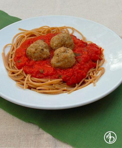 Spaghetti and Turkey Meatballs | Dinner Keepers - Made it & Liked | P ...