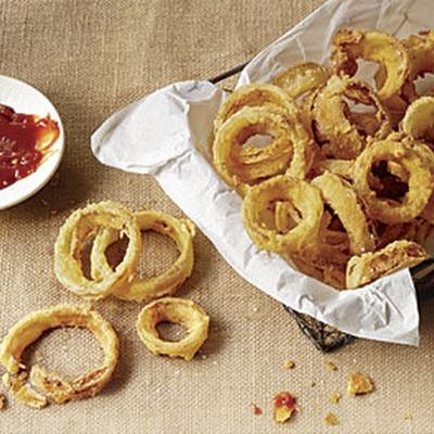 Buttermilk-Battered Onion Rings | Food... | Pinterest