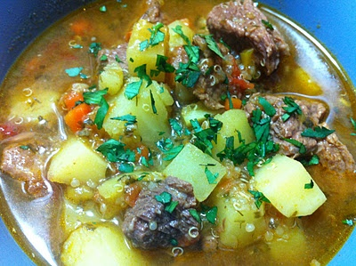 Beef, Potato and Quinoa Soup | Food & Drinks | Pinterest