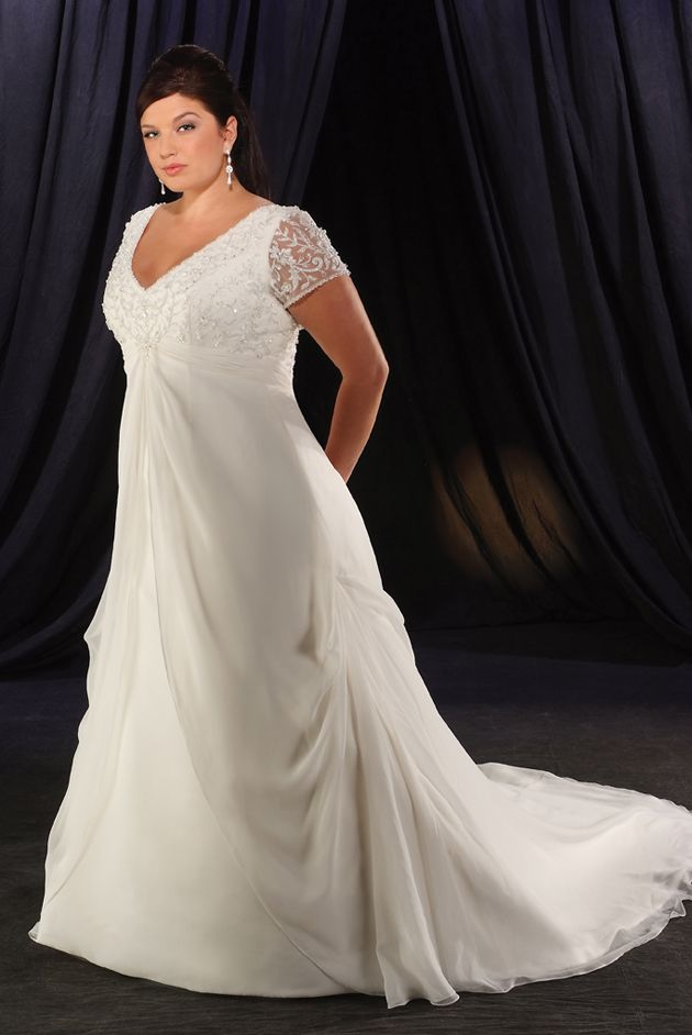 Fat girl wedding dresses for Wedding dress for fat