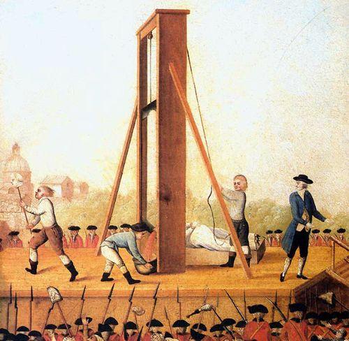 Execution of Marie Antoinette   Parce Que C'est Moi ...