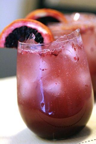 Blood Orange Sparkler | Drinks Drinks and more Drinks | Pinterest