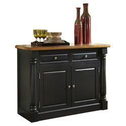 Monarch buffet in oak amp black kitchen ideas pinterest