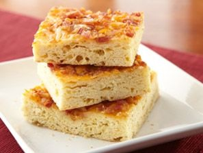 Bacon Herb & Cheese Snack Bread | Recipes to Try - Breads | Pinterest