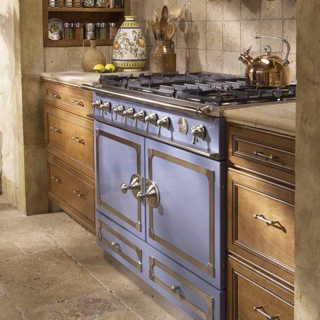 Provence Blue La Cornue Cornuf Stove Architecture