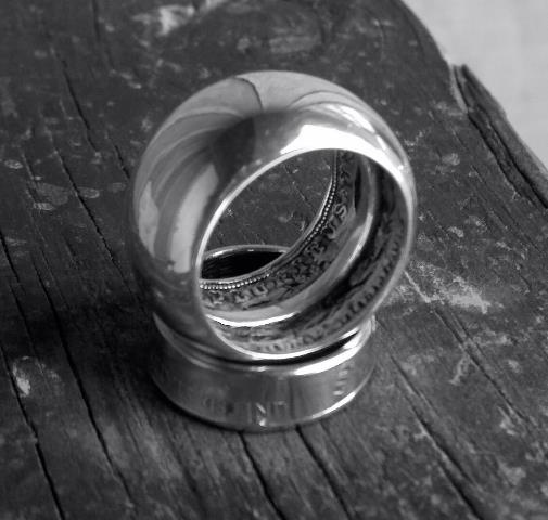 how to make a coin ring with a spoon