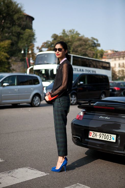 Milan Fall Street Style