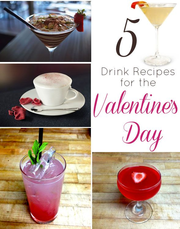 valentine day cocktail recipes