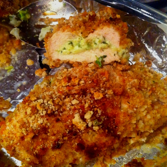Chicken Breasts Filled With Onion Jam Recipe — Dishmaps
