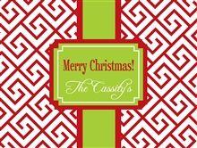 Monogrammed Christmas Cutting BoardPreppy Anchor Wallpaper