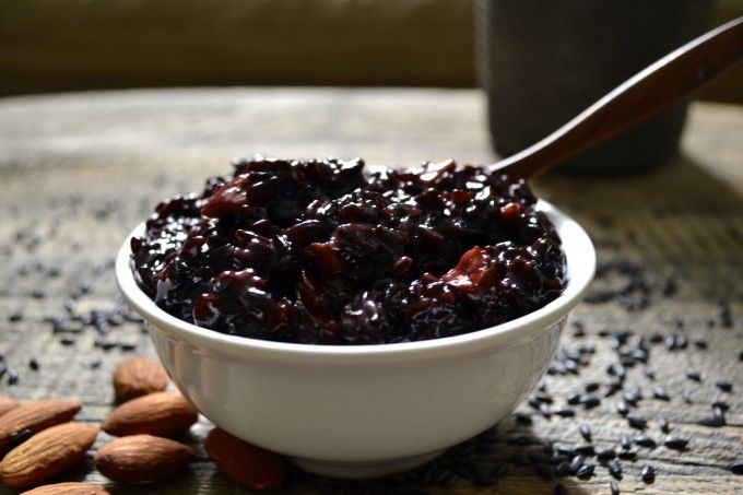 Coconut Black Rice Pudding | Food Glorious Food & Alcohol | Pinterest