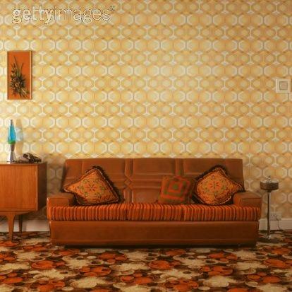 70s Sofa Vintage Pinterest