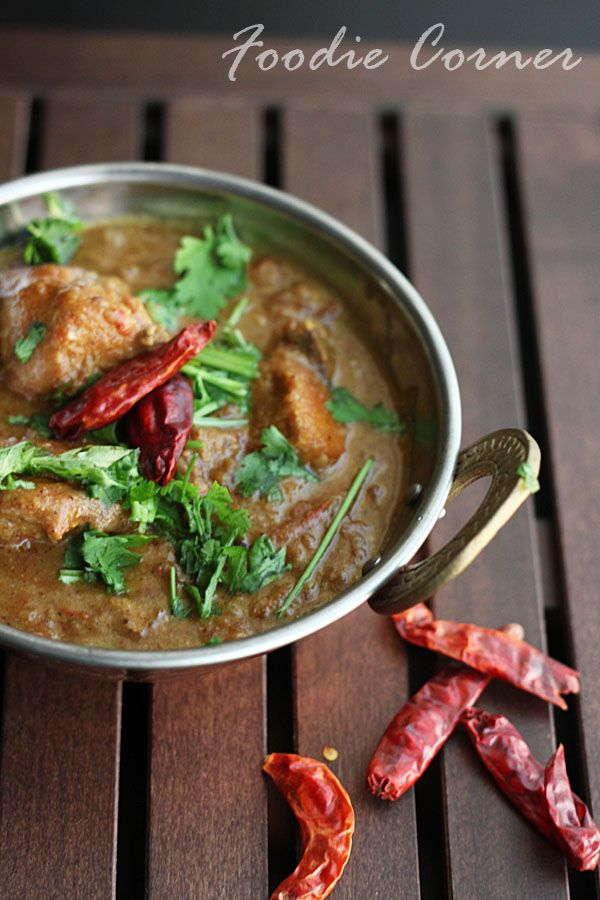 Kashmiri Chicken Curry | Indian Food | Pinterest
