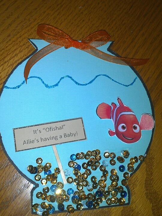finding nemo baby shower invitations