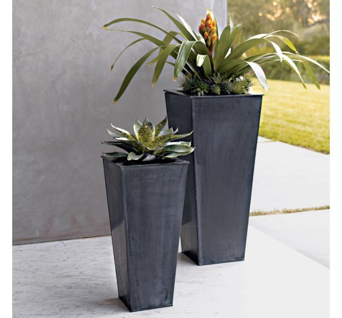 CB Zinc Planters | AR.EML-planters | Pinterest