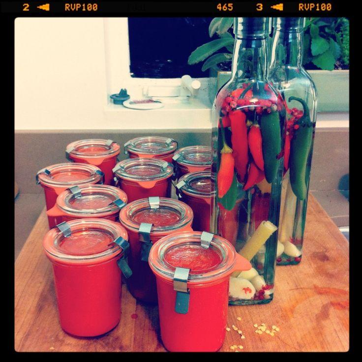 homemade sriracha | Preserves | Pinterest