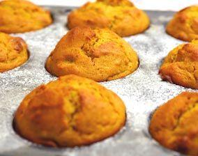 Pumpkin Applesauce Muffins - Holidays | Food is my job | Pinterest