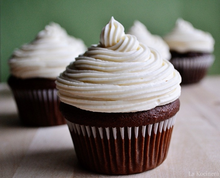 "Guinness cupcakes. Very tasty, moist, and fluffy. Not overly ""beer-y"""