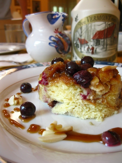 Blueberry-Almond French Toast Bake | Food | Pinterest