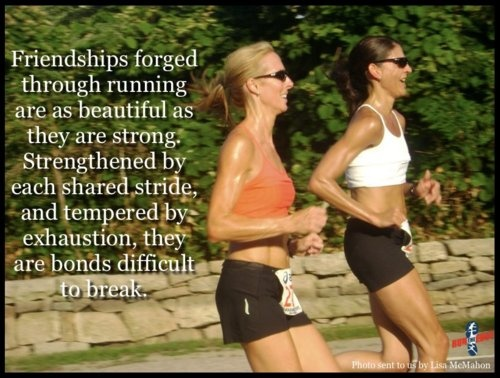 Nothing like your running buddies