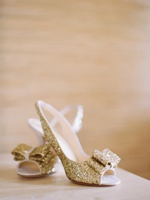 REVEL: Gold Sequin Heels