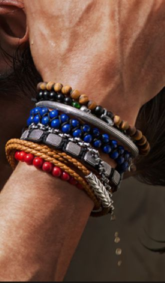 David yurman mens beading thoughts pinterest for David yurman like bracelets