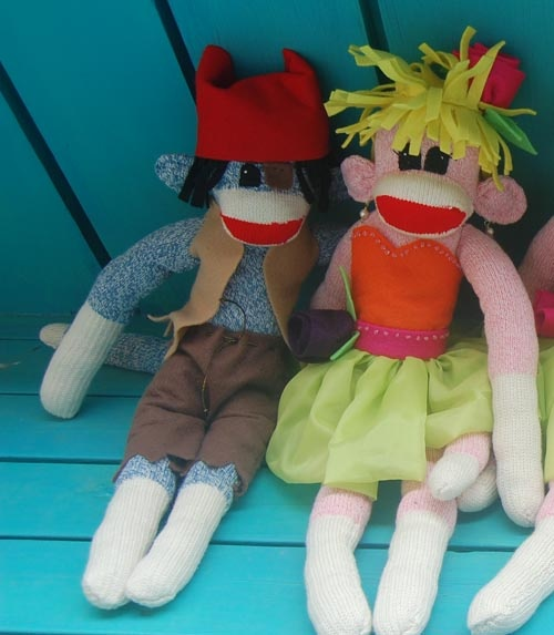 ... by Karen Neuman on Sock Monkey, Sock Monkey, and Sock Monkey | Pi
