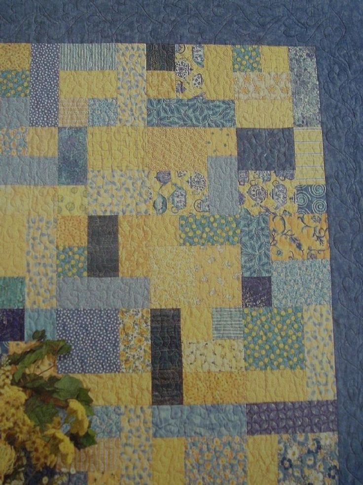 Quilt sewing pattern quilting for fat quarter fabric baby twin queen
