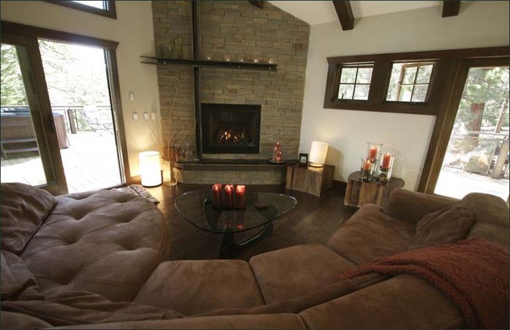 Cozy Living Room With A Fireplace Home Improvement Pinterest