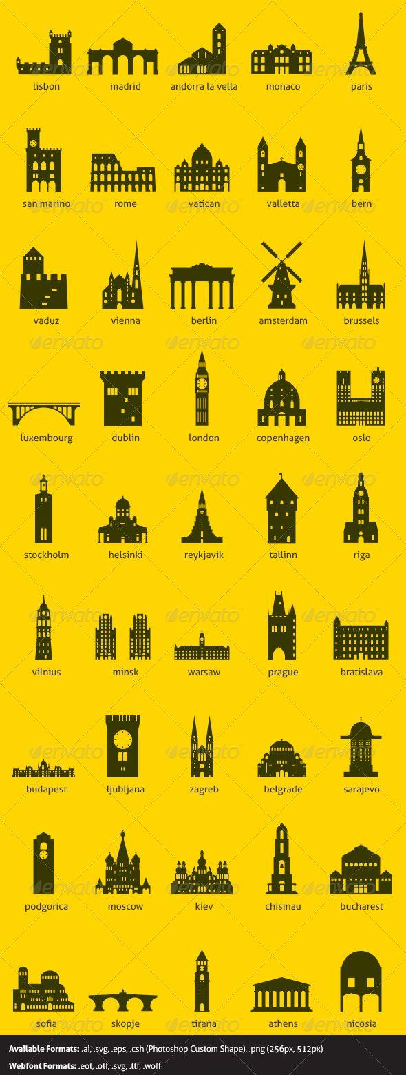 European Capitals 60572b5f3034cb2604ca8724a0e3b311