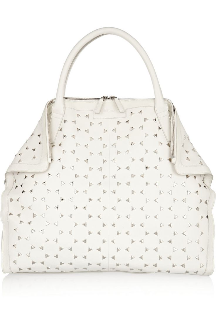 Shop now: De Manta large studded leather tote