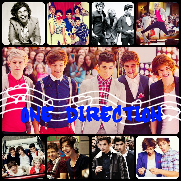 No 57 >> One Direction Collage(:   One Direction   Pinterest