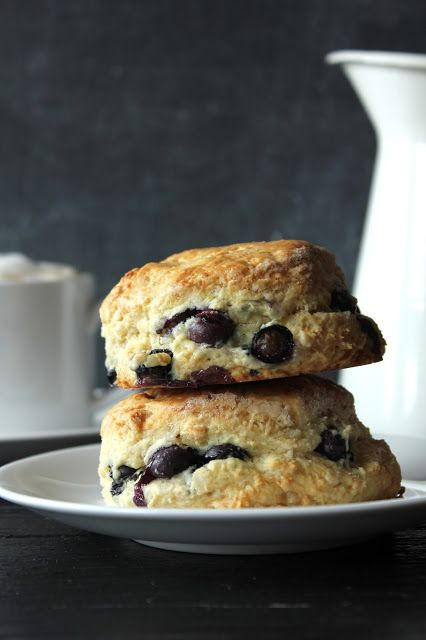 Almond Blueberry Scones Pink Patisserie | Recipe ideas | Pinterest