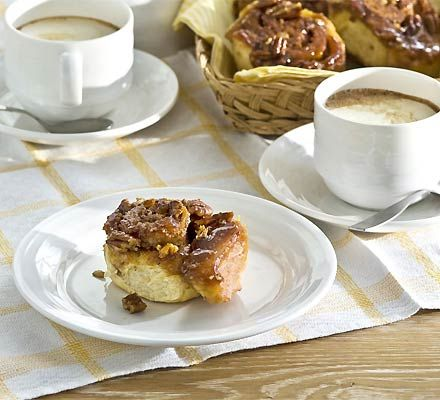 Cinnamon pecan sticky buns - Perfect for a lazy afternoon with a big ...