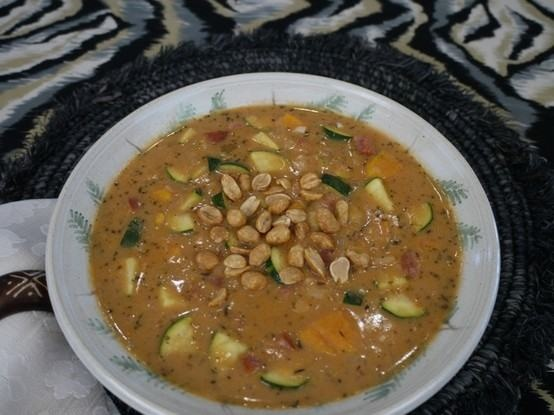 spicy african sweet potato soup | Things that make me say yum ...