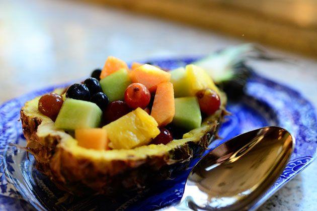 Pineapple Fruit Bowl | Recipe