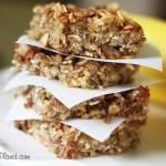 Banana, Oat & Quinoa Bars | Fitness | Pinterest